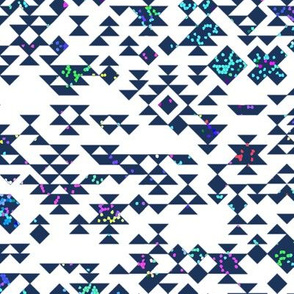 desert designs - sprinkled navy
