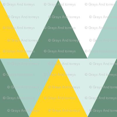 triangles // lemon