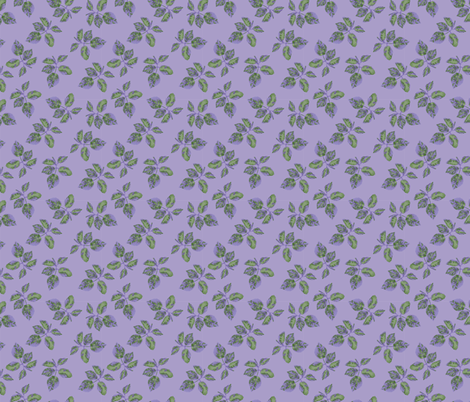 bedford willowy sprigs fabric by margiecampbellsamuels on Spoonflower - custom fabric
