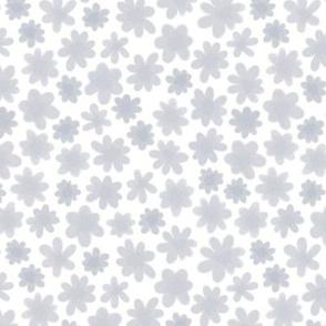 Soft Grey Flowers