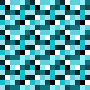 cmyk pixels (cyan)