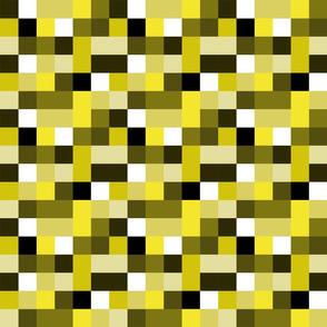 cmyk pixels (yellow)