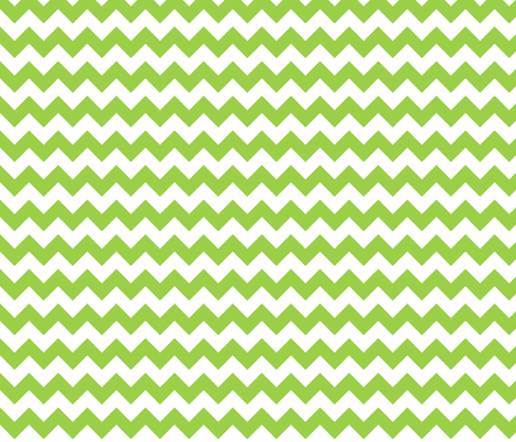 Lime Green Chevron fabric by acappellasoundschorus on Spoonflower - custom fabric