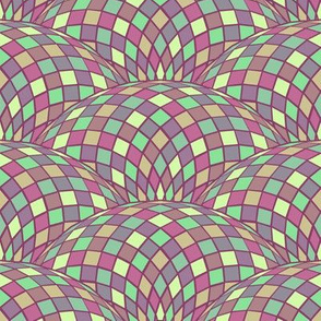 geodesic scallop - alexandrite