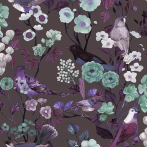 Birds and Blooms Chinoiserie {Reverie}