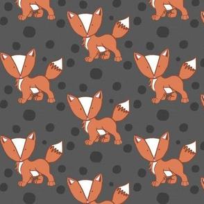 Sassy Fox in Grey