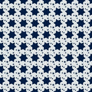 Dark Blue Stars