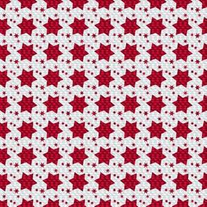 Medium red stars