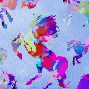 Watercolor Unicorns
