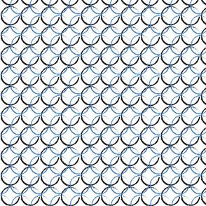 Blue/Black Circles