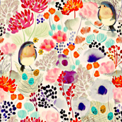 Nesting in Blooms