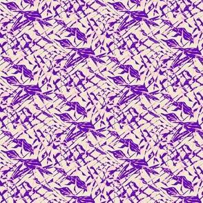 Lavender Lattice on Silver Sand - Small Scale