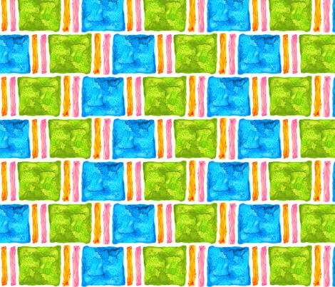Watercolor blocks fabric by acappellasoundschorus on Spoonflower - custom fabric