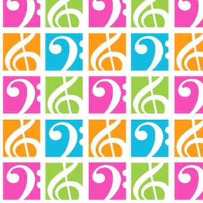 Clefs (Bass and Treble)