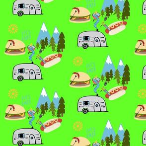 Isaac's camping design