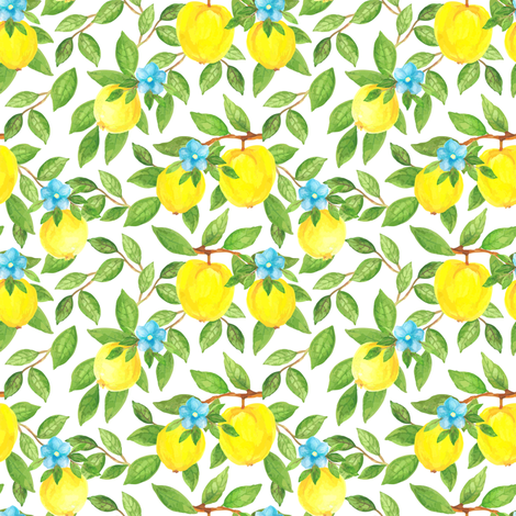 Chinese quince  fabric by dariara on Spoonflower - custom fabric
