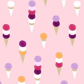 I scream for ice-cream  - pink