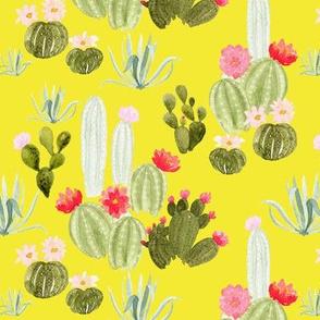 Bloomin' Desert on yellow