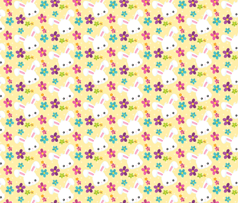 Easter Fun 04 fabric by prettygrafik on Spoonflower - custom fabric