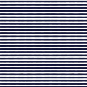 Stripes navy and white
