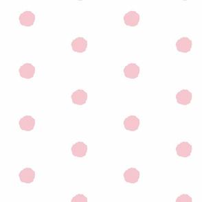 White_with_pink_splat! polkas