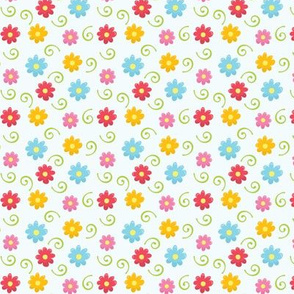 Floral and Twirls 03