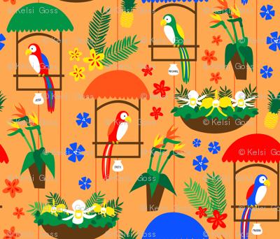 Tiki Room Birds