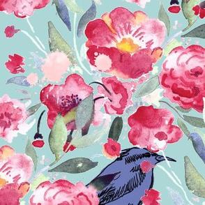 Bird's blossom