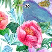 Blooming  Bluebirds
