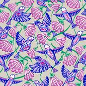 Hummingbirds & Blooms