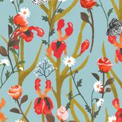 flower & bird