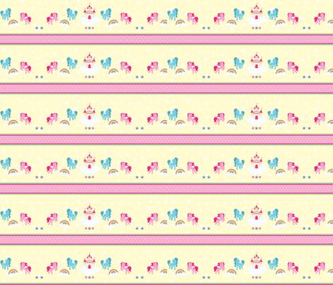 Magical Unicorns 05 fabric by prettygrafik on Spoonflower - custom fabric