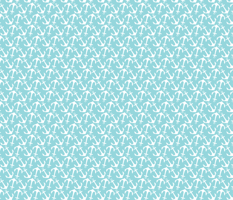 Modern Nautical 06 fabric by prettygrafik on Spoonflower - custom fabric