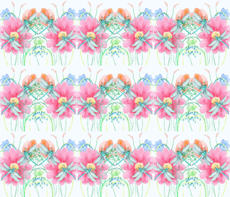 Dragonfly Days fabric by floramoon_designs on Spoonflower - custom fabric