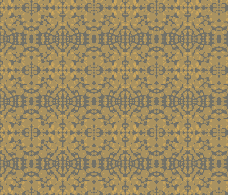 Honey Hive fabric by elisabethmitchell on Spoonflower - custom fabric