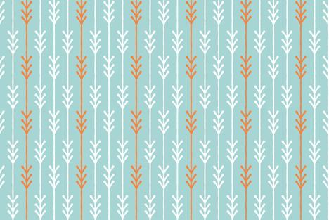 Arrow fabric by bintburydesigns on Spoonflower - custom fabric