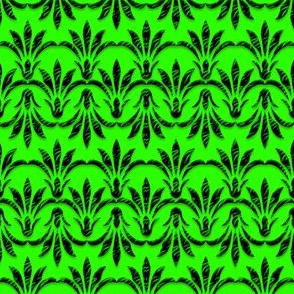 Peace_Floral_Pattern_Green