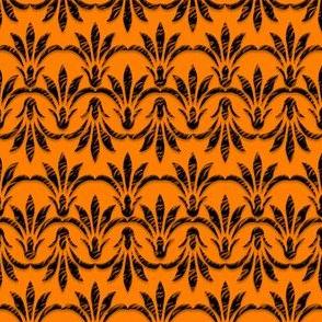 Peace_Floral_Pattern_Orange