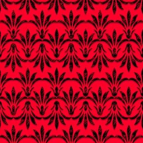 Peace_Floral_Pattern_Red