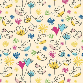 Birds-and-Blooms