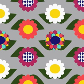 Bright Floral large