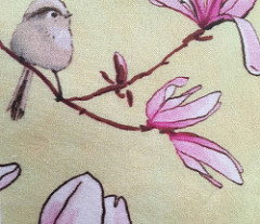 birds and magnolias