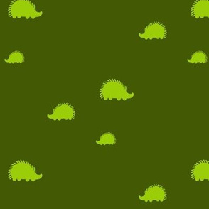 Lime Green Hedgehogs