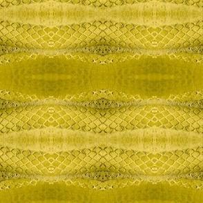 Horizontal Snakeskin (Chartreuse)