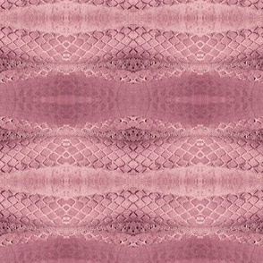Horizontal Snakeskin (Mauve)
