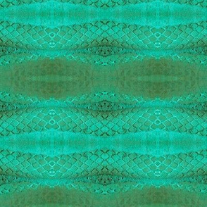 Horizontal Snakeskin (Blueish Green)