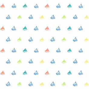 Sail away multi colors