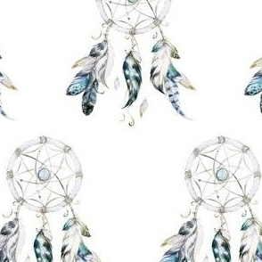 "4"" Little Chief Dream Catcher / NO QUOTE"