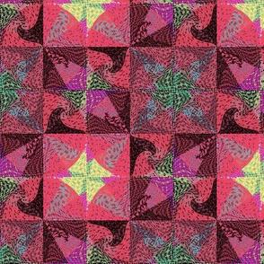 rosy dawn tiles