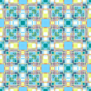 Abstract checkered pattern .